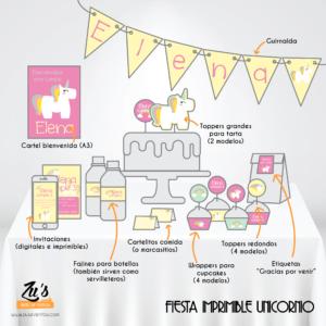 Fiesta Unicornio imprimible