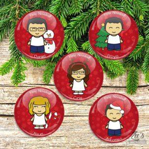 Chapas de Navidad