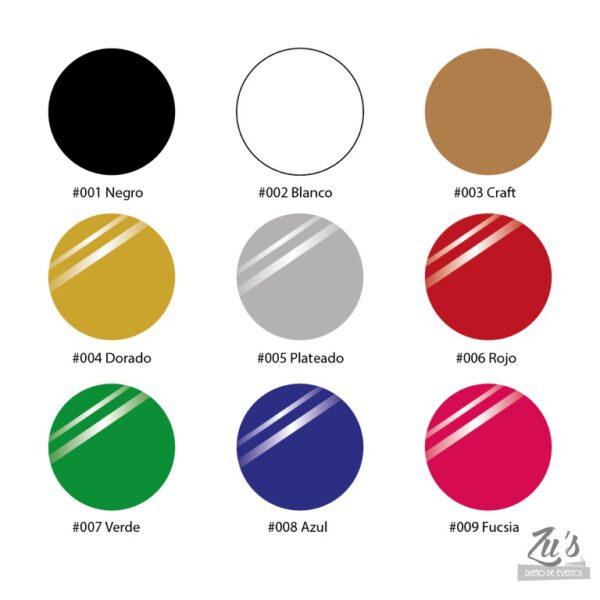 colores cartulinas