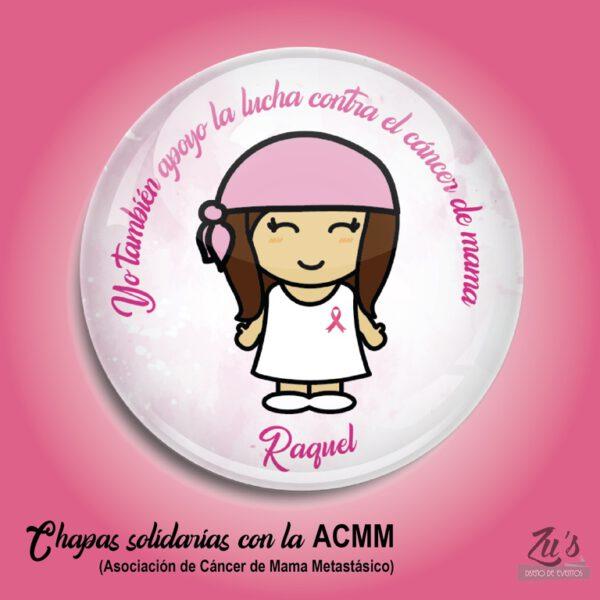 chapas solidarias cancer mama