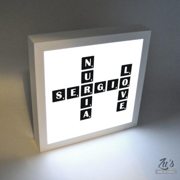 cuadro luz personalizado