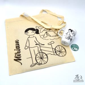 Pack para profesores: taza + bolsa + chapa de regalo
