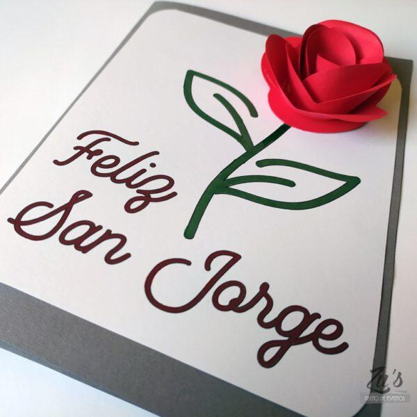 imprimible gratuito rosa san jorge
